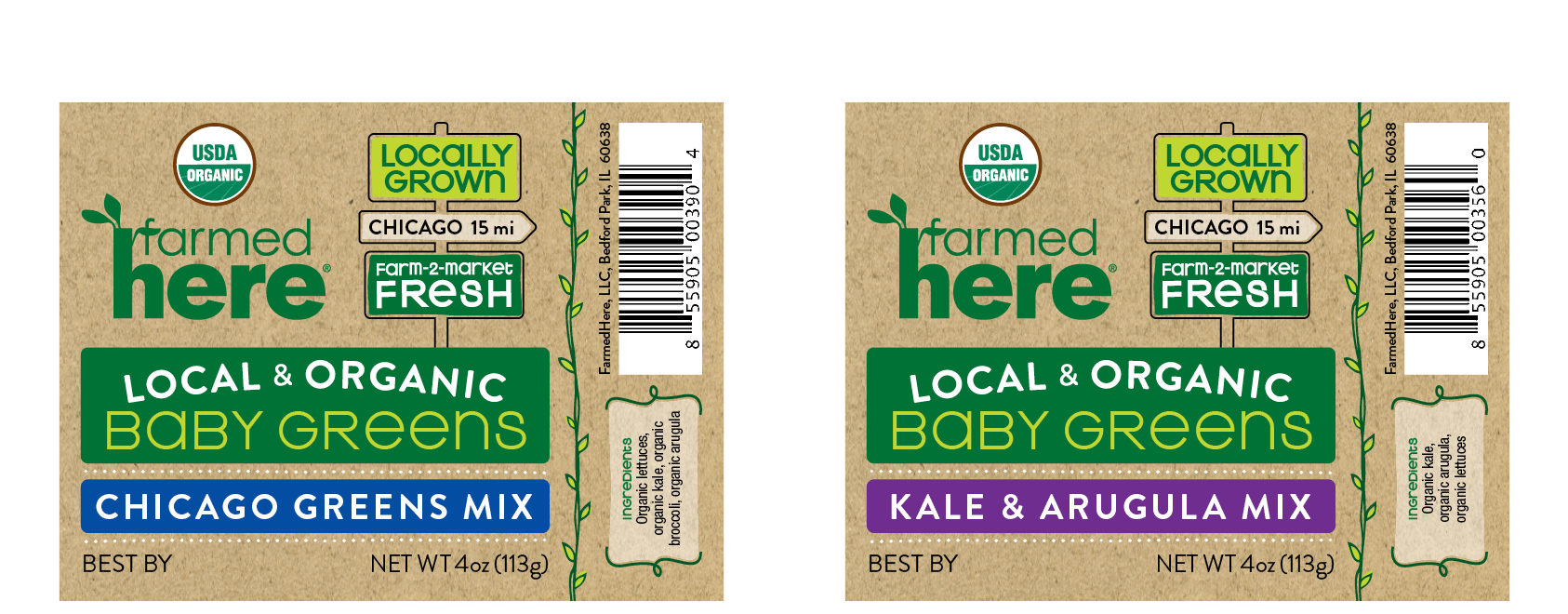 dtd farmedhere packaging baby greens 2up