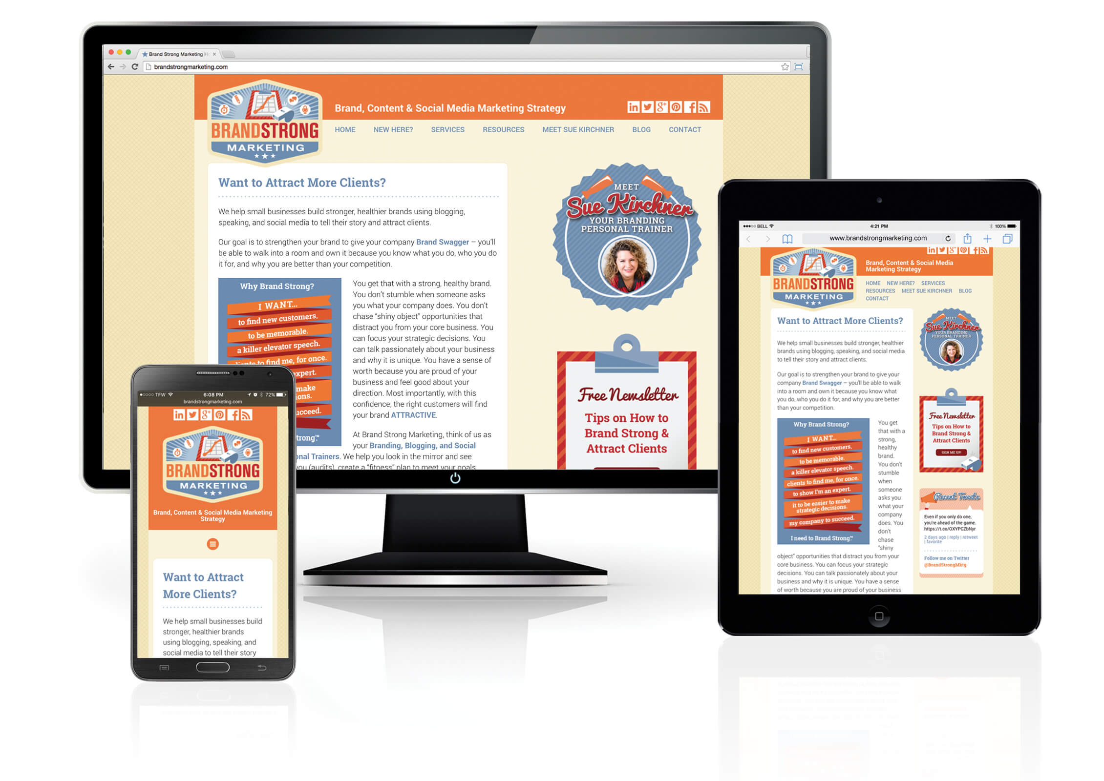 brand strong website image